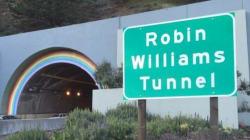 サンフランシスコの虹のトンネルが「ロビン・ウィリアムズ・トンネル」に
