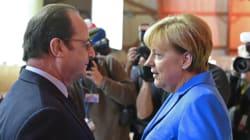 Hollande reçoit Merkel pour tenter de s'accorder avant le sommet crucial sur les