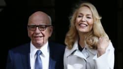 Rupert Murdoch a épousé Jerry