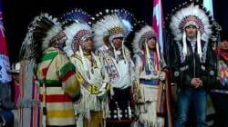 Trudeau honoré par la nation