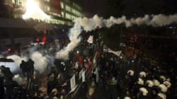 Turkish Police Fire Tear Gas At Newspaper As EU Officials Lament Press