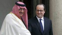 La légion d'honneur pour le prince héritier d'Arabie