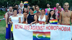 A Group Of LGBTQI Muslims Walked In This Year's Mardi