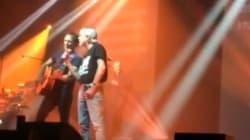 Renaud invité surprise du concert de I Muvrini à