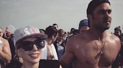 Lady Gaga And Taylor Kinney Make The Polar Plunge Look Pretty