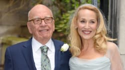 Jerry Hall Marries Rupert Murdoch Wearing Vivienne Westwood