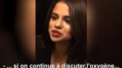 Selena Gomez, coincée dans un ascenseur à Paris, filme son