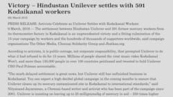 After 15 Years Of Struggle, Hindustan Unilever Is Compensating Kodaikanal's Afflicted