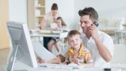 Conciliation travail-famille: une préoccupation aussi masculine que