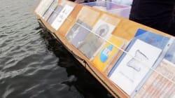 Biblioteca flutuante prova que livros devem ser compartilhados em TODOS os