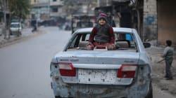 Hierba para comer: así viven los niños bajo asedio en Siria