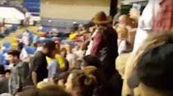 Trump Supporter Punches Protester In Face At North Carolina