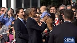 Trudeau And Obama Can't Even Deal With The Cuteness Of This
