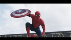 Spider-Man Pops Up In New 'Captain America'