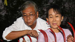 アウンサンスーチー氏の側近、ミャンマー新大統領に選出へ どんな人?