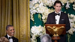 Trudeau Thanks Obama For 'Global Leadership' In State Dinner