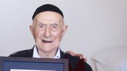 Un survivant de l'Holocauste déclaré le plus vieil homme du