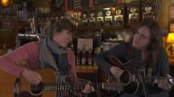 Wainwright Sisters en prestation surprise au FME Quartiers d'hiver