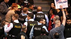 Donald Trump Rally In Chicago Shut Down Due To Security