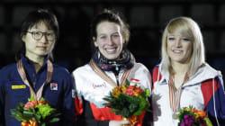 Marianne St-Gelais, championne du