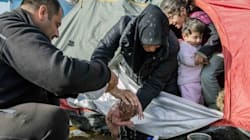 This Photo Of A Newborn In A Squalid Camp Shows The Human Cost Of Europe's Shut