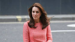 The Duchess Of Cambridge Is Picnic Blanket-Printed