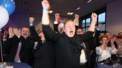En Allemagne, l'extrême droite triomphe face au parti d'Angela