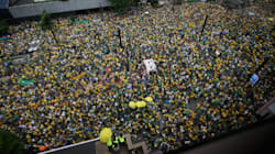 Hundreds Of Thousands Pour Onto Brazilian Streets To Demand President's