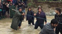 Tre migranti annegano in un fiume tra Macedonia e