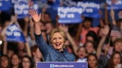 Clinton rafle la mise au 2e