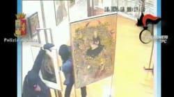 I ladri di Tintoretto e Mantegna in azione, la polizia li arresta ma i quadri non si