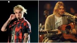Justin Bieber se prend (encore) pour Kurt Cobain