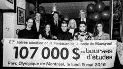 Styles de soirée: le cocktail stylé de la Fondation de la mode de Montréal