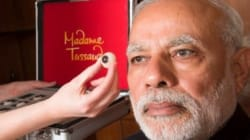 WATCH: How PM Modi Posed For The Wax Statue At Madame