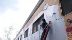 Blu e i graffiti cancellati che entreranno nella storia