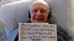 Sa petite-fille a trouvé la meilleure des idées pour ses 98