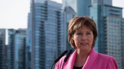 La première ministre de la Colombie-Britannique dit avoir été agressée à 13 ans