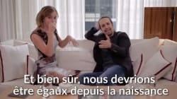 Emma Watson fait du beatbox pour l'égalité hommes -