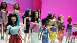 La nouvelle Barbie, la nouvelle