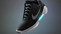 The Self-Lacing Nike 'Back To The Future' Shoe Is FINALLY