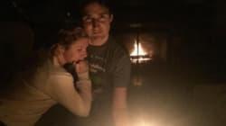 Justin et Sophie Trudeau à la lueur d'une