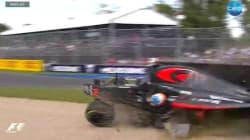 Le spectaculaire accident entre Alonso et Gutiérrez au Grand Prix