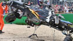 Violente collision au Grand Prix d'Australie