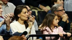 Katie Holmes Is The Most Intense March Madness Fan At Game With Suri
