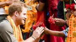 Prince Harry Is In Nepal And Shows No Signs Of Slowing