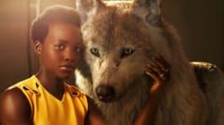 Les acteurs du «Livre de la jungle» posent avec leur animal