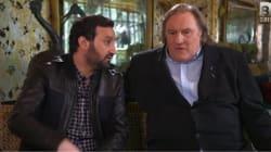 Hanouna voulait parler ciné avec Depardieu, mais rien ne s'est passé comme