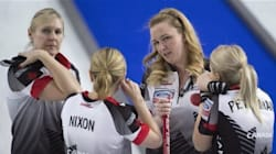 Première défaite en curling pour le