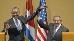 La photo du jour : une poignée de main «historique»