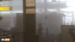 El caos en el interior del aeropuerto de Zaventem tras las explosiones